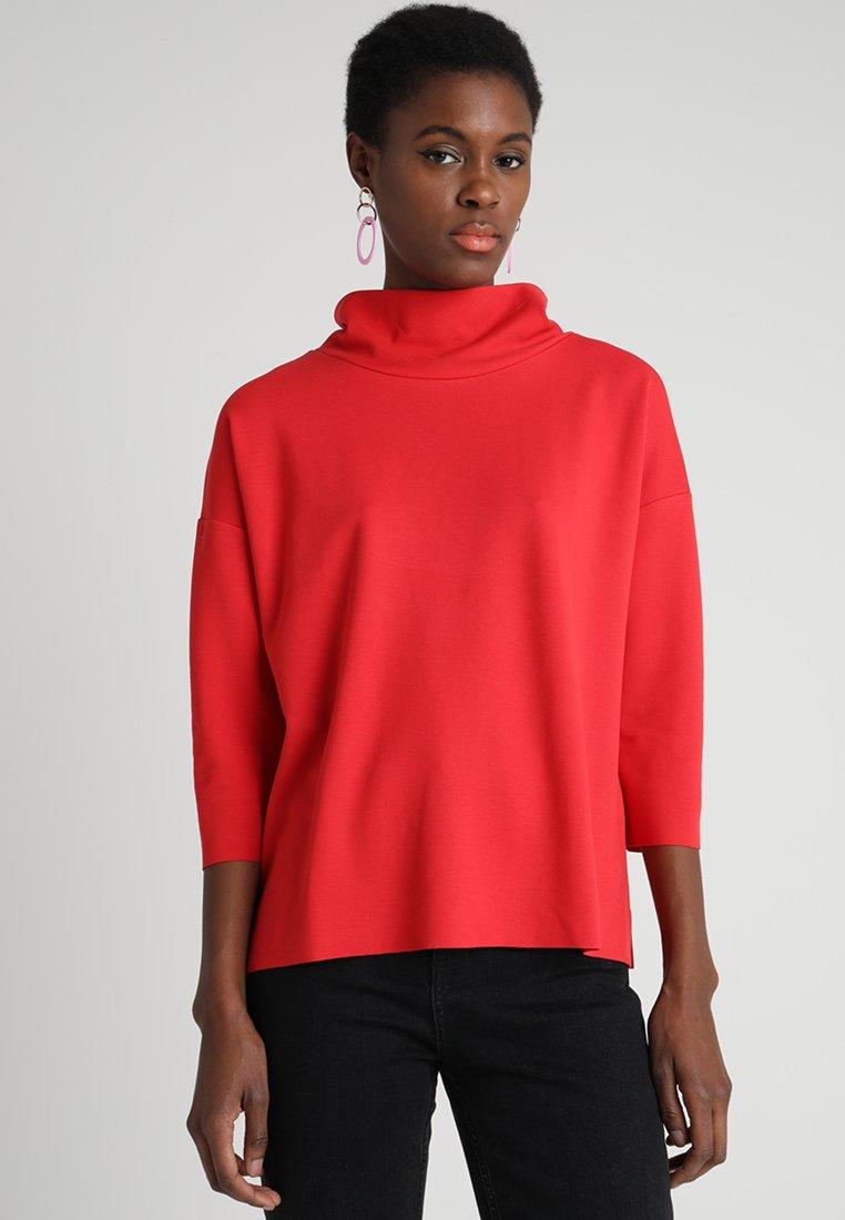 More & More - INTERLOCK - Langarmshirt - red