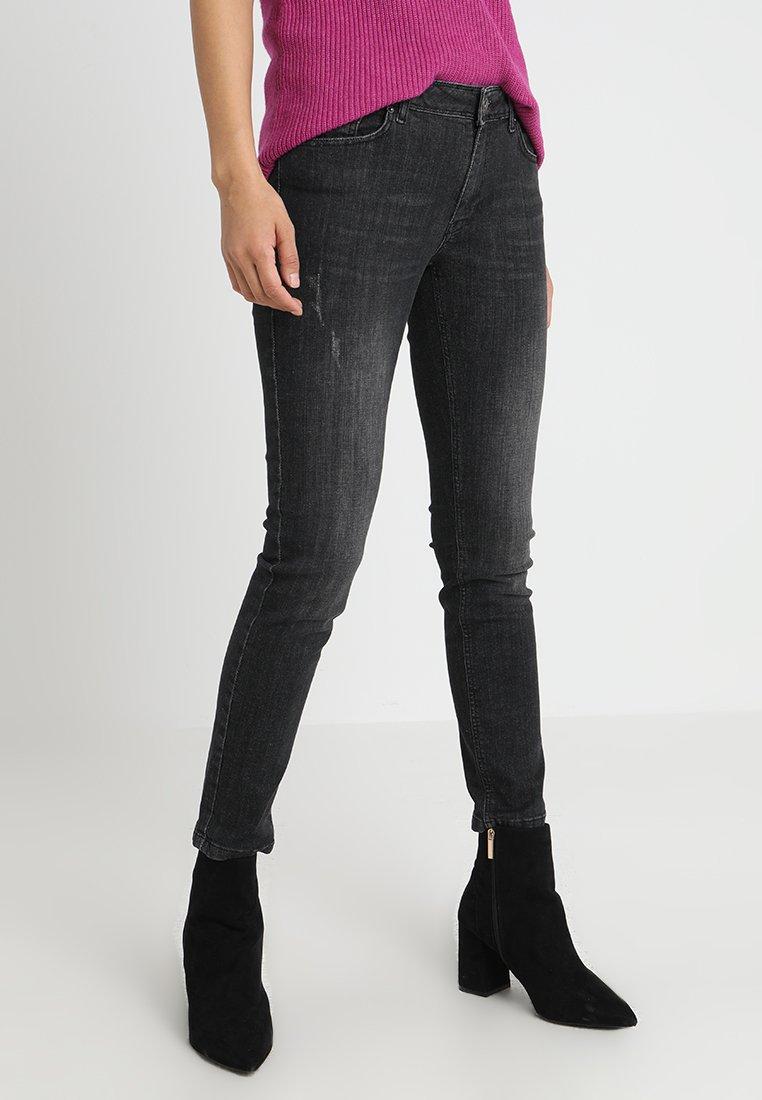 More & More - Jeans Slim Fit - blue-black denim