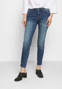 More & More - Jean slim - denim blue - 0