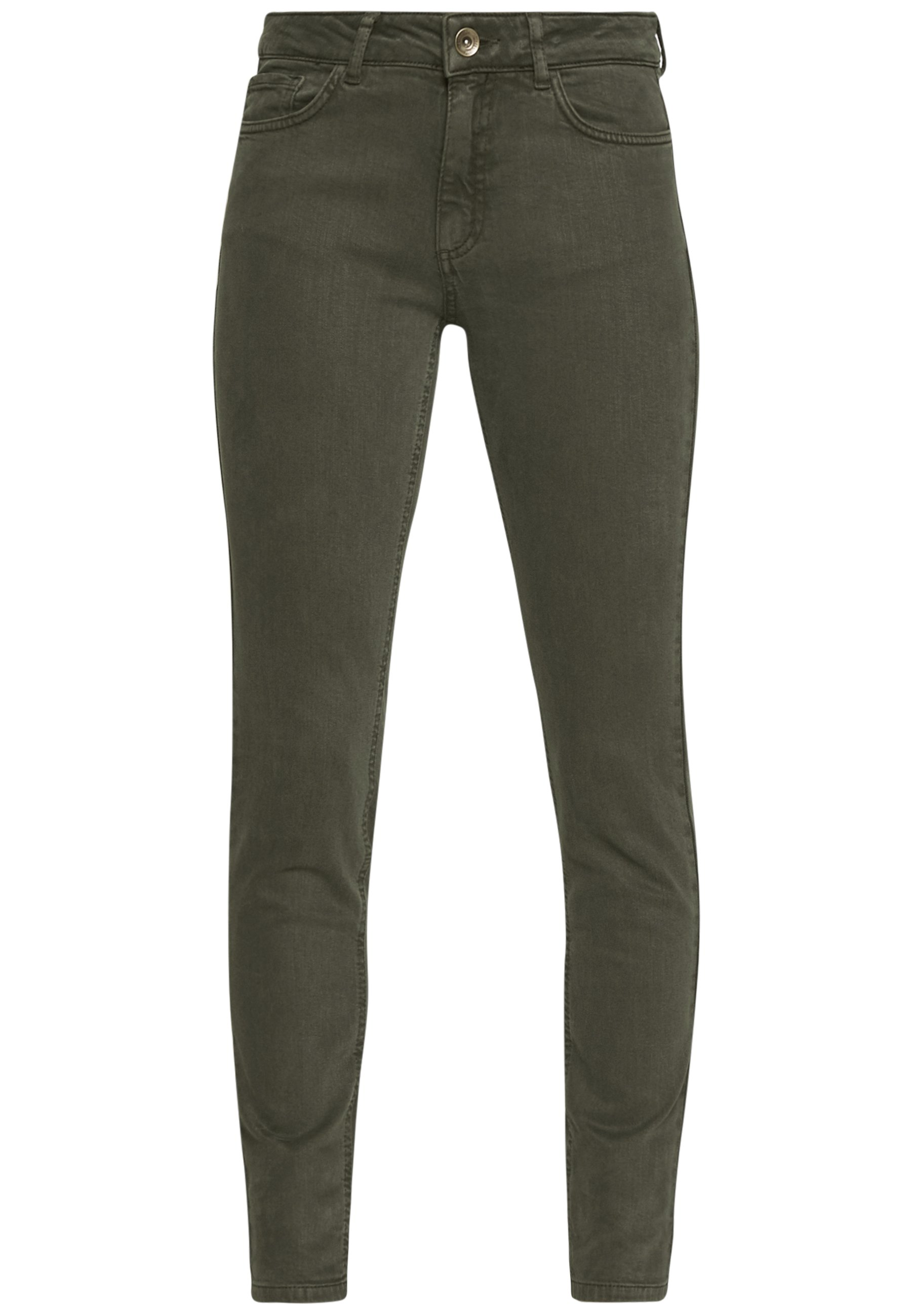 More & More TROUSER - Jeansy Slim Fit - dark leaf
