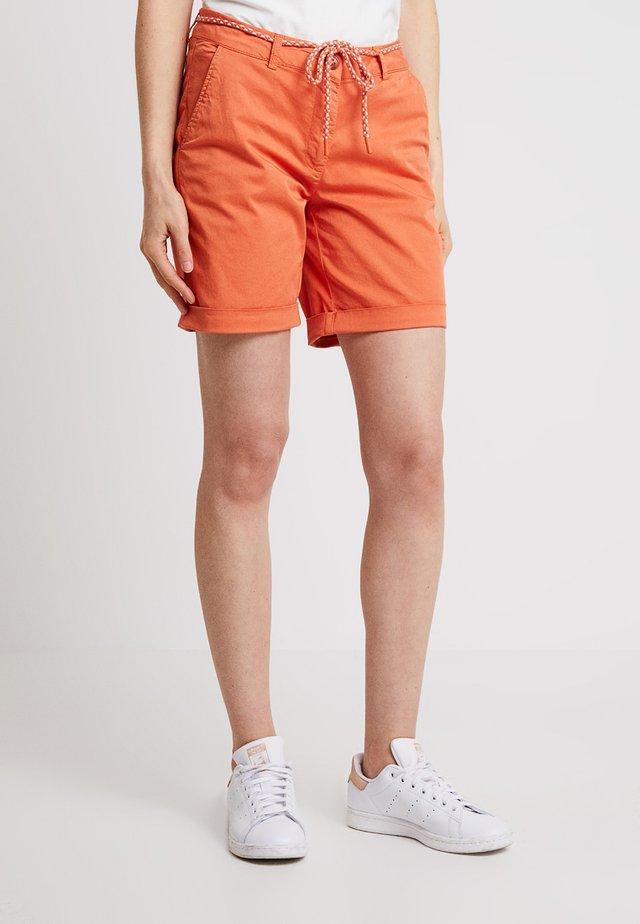 Shorts - smooth orange