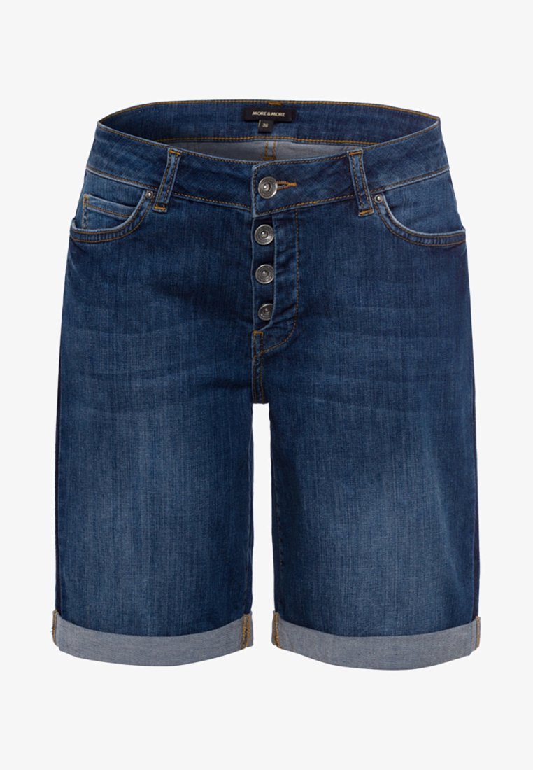 More & More - Jeans Shorts - blue denim
