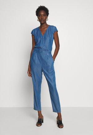 TROUSER LEISURE WEAR - Jumpsuit - denim blue
