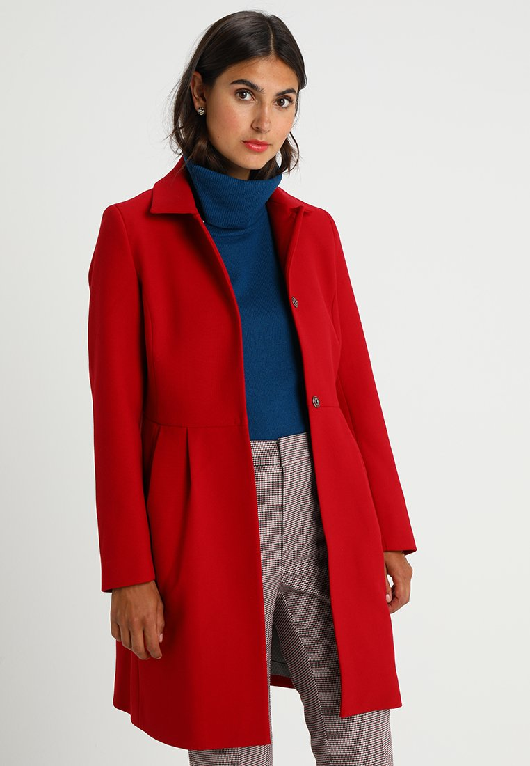 More & More - Classic coat - warm red