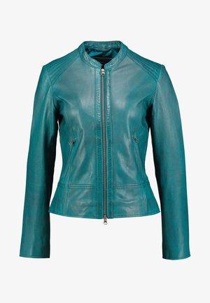 JACKET - Veste en cuir - emerald green