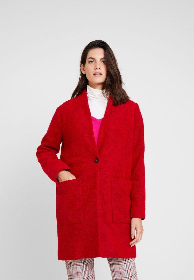Kurzmantel - warm red