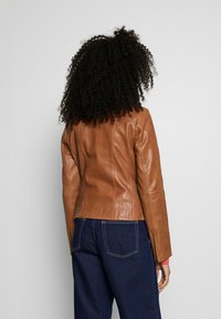 More & More - Leather jacket - nougat - 2