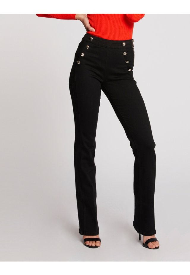 SAILOR - Jean bootcut - black