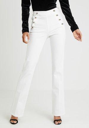 PONTI - Jeans Bootcut - blanc