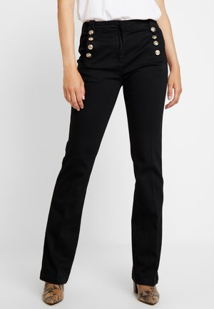 PARADE - Jeansy Bootcut - noir