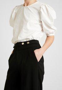 Morgan - POLO - Spodnie materiałowe - noir - 5