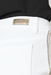 Morgan - PEPPER - Pantalon classique - white - 3