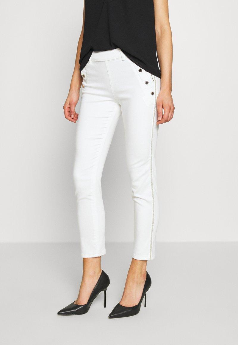 Morgan - PEPPER - Pantalon classique - white