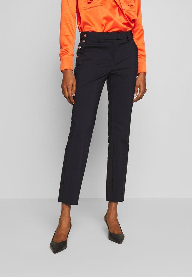 PAPIA - Spodnie materiałowe - marine