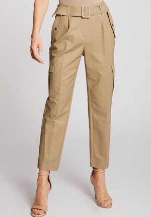 Pantalon cargo - dark brown