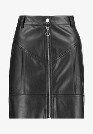 A-line skirt - noir