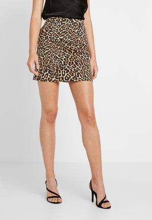 Minifalda - brown