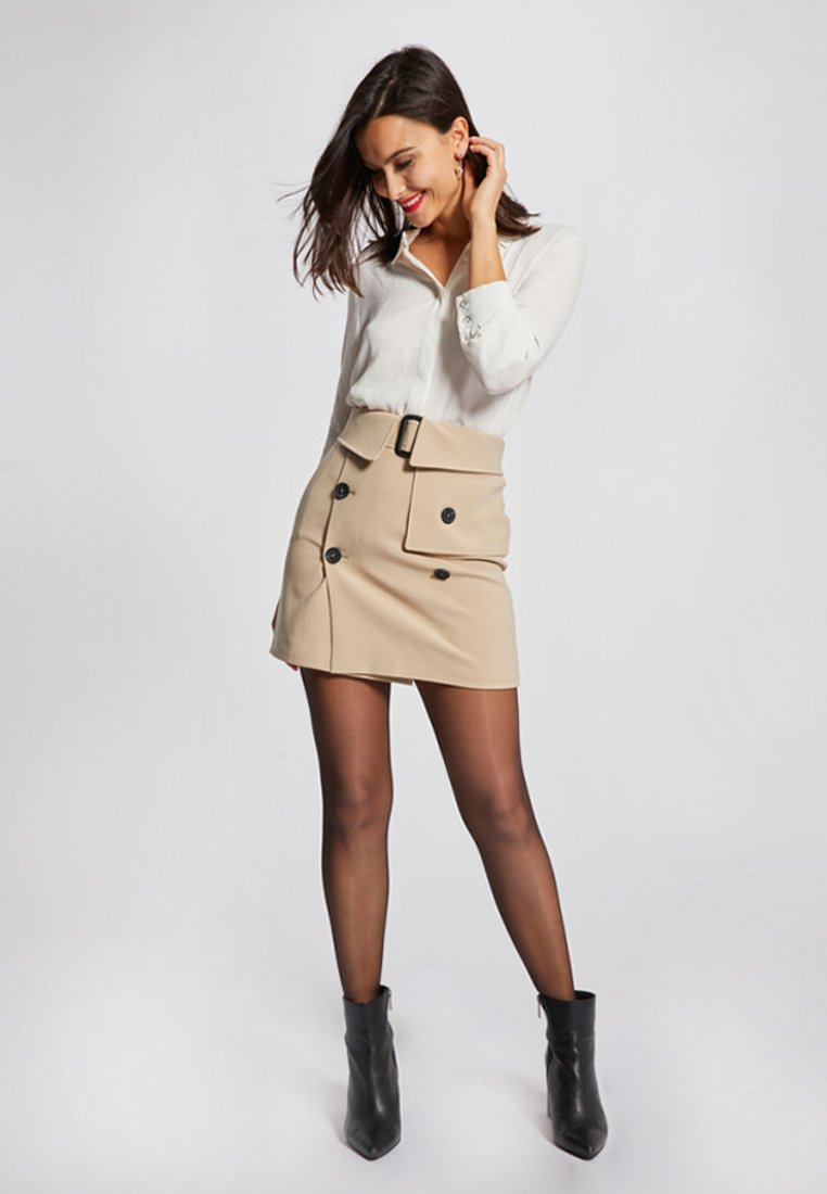 Morgan - A-line skirt - beige