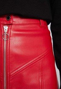 Morgan - A-lijn rok - dark red - 3