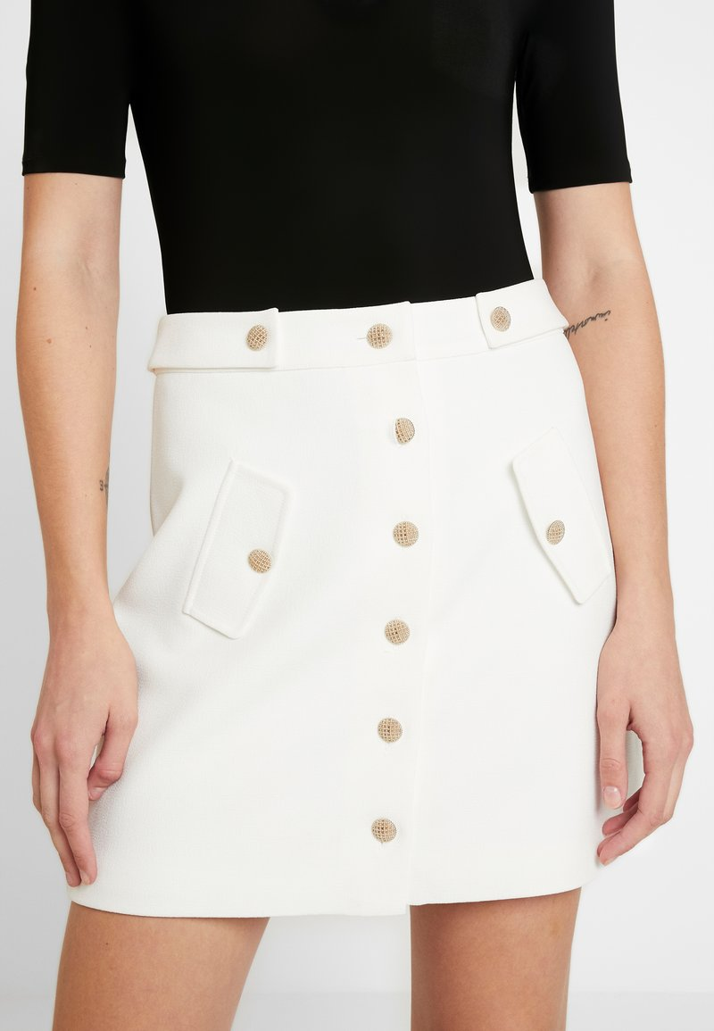 Morgan - A-line skirt - off white