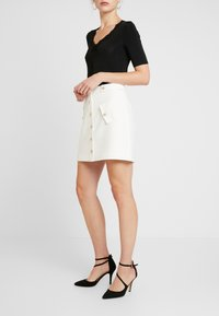 Morgan - A-line skirt - off white - 3