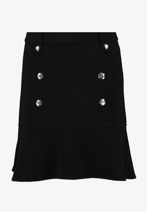 JOANNA - A-line skirt - noir