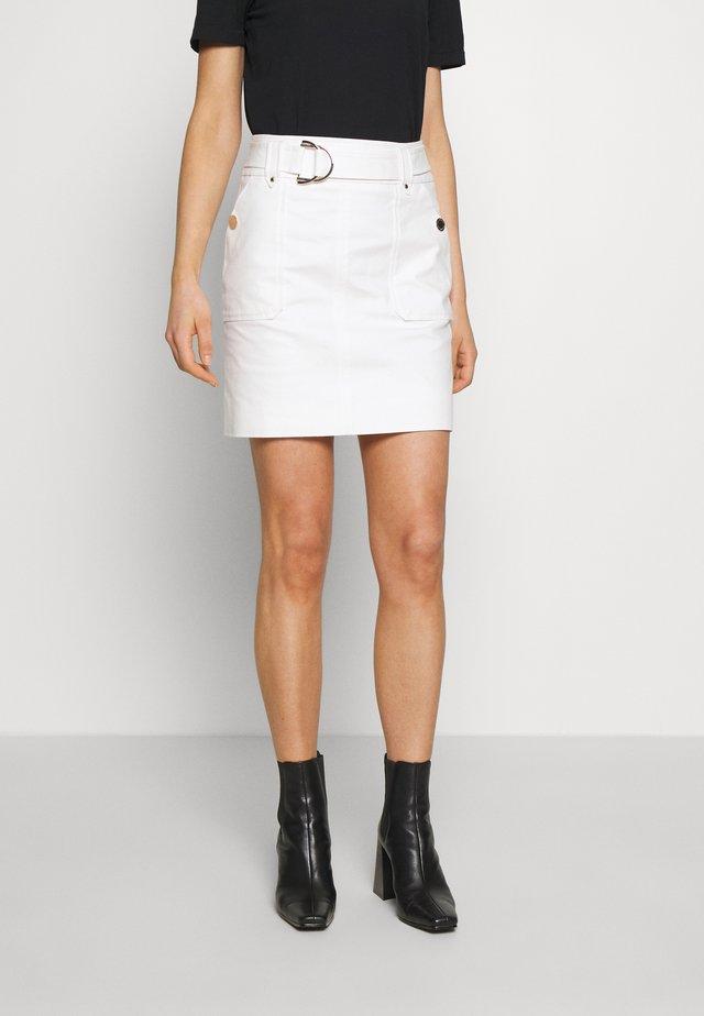 JAFARI - Spódnica mini - off white