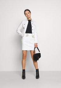 Morgan - JAFARI - Mini skirt - off white - 1