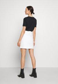 Morgan - JAFARI - Mini skirt - off white - 2