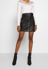 Morgan - Minifalda - noir - 0