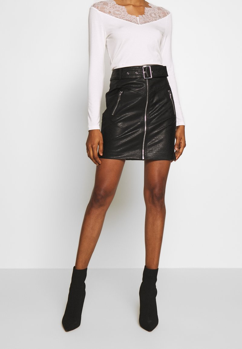 Morgan - Minifalda - noir