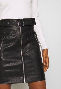 Morgan - Minifalda - noir - 5