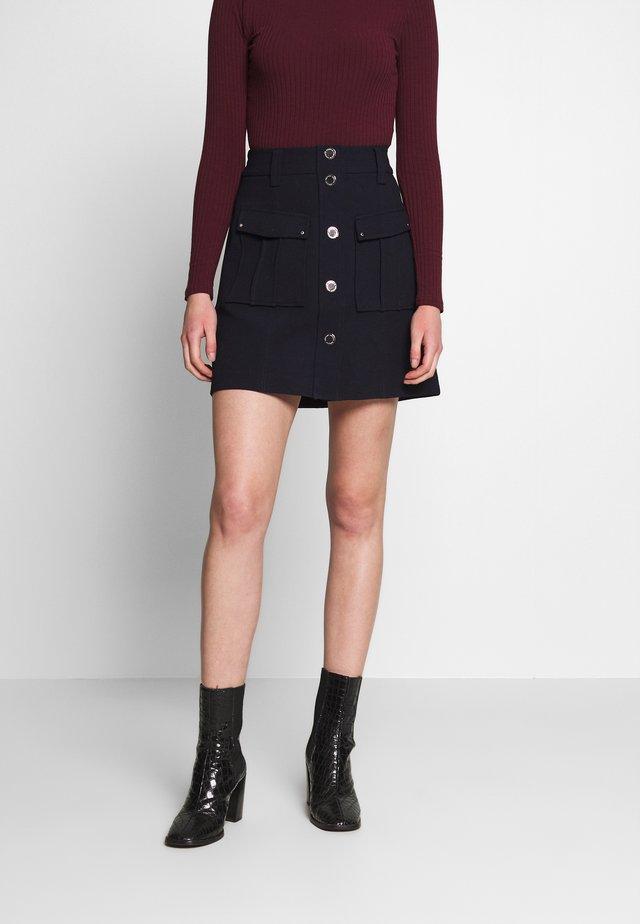 JALLO - Mini skirt - marine