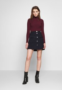 Morgan - JALLO - Mini skirt - marine - 1