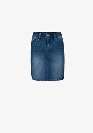 Jupe en jean - black denim