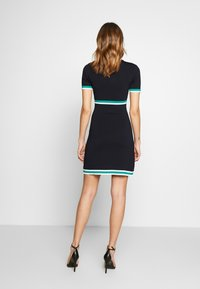 Morgan - Jumper dress - marine/vert - 2