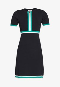 Morgan - Jumper dress - marine/vert - 4
