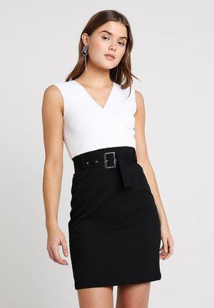 Day dress - noir/off white