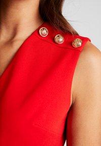 Morgan - Robe fourreau - rouge - 6