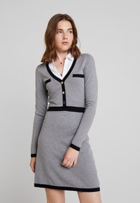 Morgan - Jumper dress - gris chine type - 0