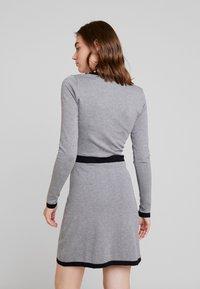 Morgan - Jumper dress - gris chine type - 2