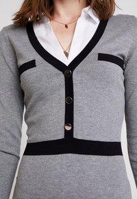 Morgan - Jumper dress - gris chine type - 5