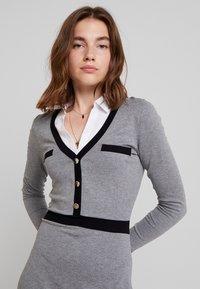 Morgan - Jumper dress - gris chine type - 3
