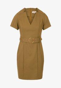 Morgan - Day dress - khaki - 4