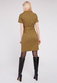 Morgan - Day dress - khaki - 2