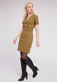 Morgan - Day dress - khaki - 1