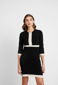 Morgan - MAYO - Jumper dress - noir/gold - 0