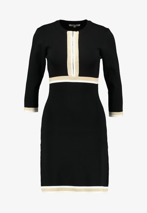 MAYO - Jumper dress - noir/gold