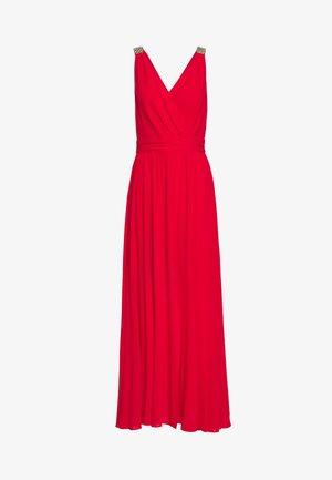 RVELIAN - Společenské šaty - groseille