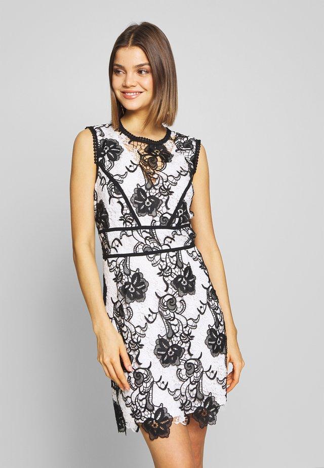 RIKAL - Koktejlové šaty/ šaty na párty - off white/noir
